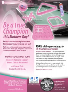 Mothers Day PINK ad Luby